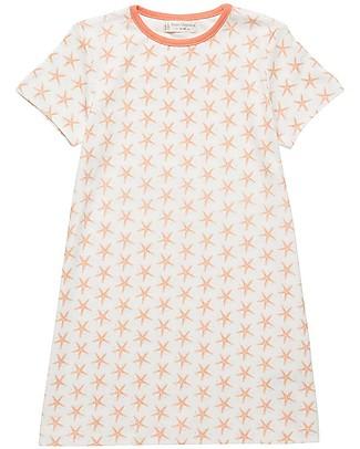 Sense Organics Camicia da Notte Mika Retro, Stella Marina - 100% cotone bio Vestaglie