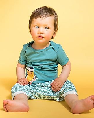 Sense Organics Pantaloncini Baby Magesh, Barchette Origami - 100% cotone bio Pantaloni Corti
