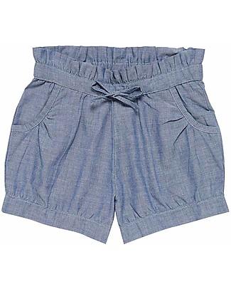 Sense Organics Pantaloncini Corti Olivia, Blu - 100% cotone bio Pantaloni Corti