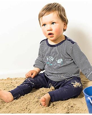 Sense Organics Pantaloni Baby Yoy, Blu - 100% cotone bio Pantaloni Corti