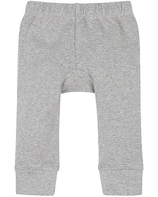 Sense Organics Pantaloni Lunghi Baby Bright, Grigio Melange - 100% cotone bio Pantaloni Lunghi