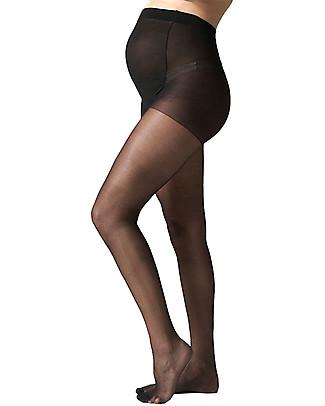 Seraphine Collant Premaman 15 Denari - Nero (extra supporto per il pancione) Calze