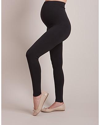 Seraphine Holi - Leggings Premaman Senza Cuciture - Nuovo Modello - Nero Leggings
