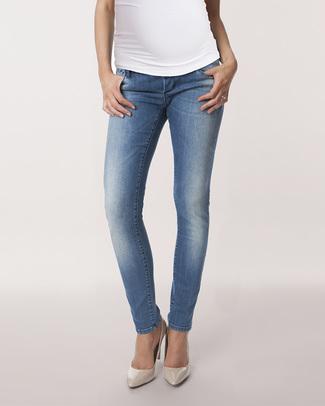 Seraphine Jeans Premaman Gracie Skinny - Blu Vintage Jeans Premaman