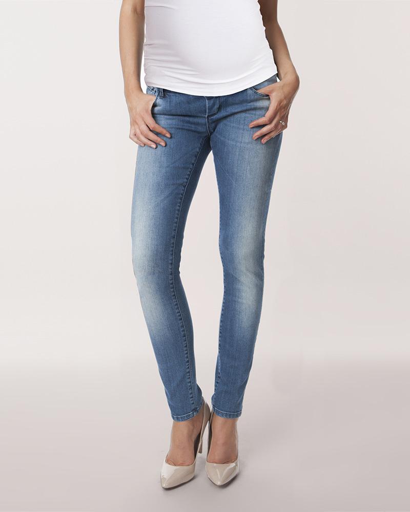 507a7730ccae Seraphine Jeans Premaman Gracie Skinny - Blu Vintage Jeans Premaman