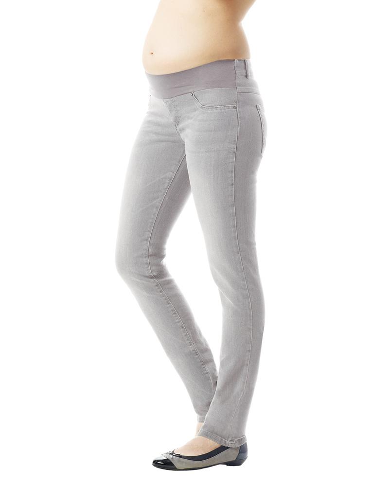 21b08e707a72 Seraphine Jeans Premaman Luxe Angelina Skinny - Grigio Chiaro Jeans Premaman