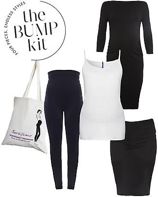 Seraphine Kit 9 Mesi London – 4 Capi Indispensabili per la Gravidanza! Vestiti