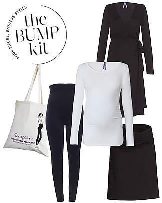 Seraphine Kit 9 Mesi Paris – 4 Capi Indispensabili per la Gravidanza! Vestiti