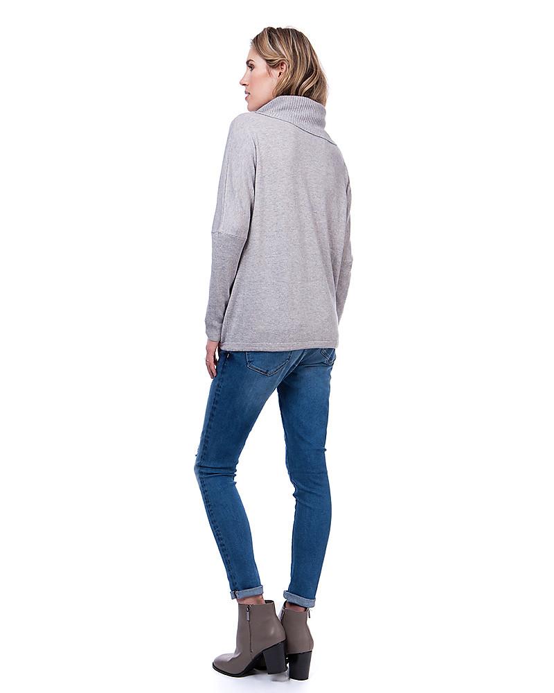 negozio online 3cf77 45887 Seraphine Maglione Eda Premaman e Allattamento Collo Alto ...