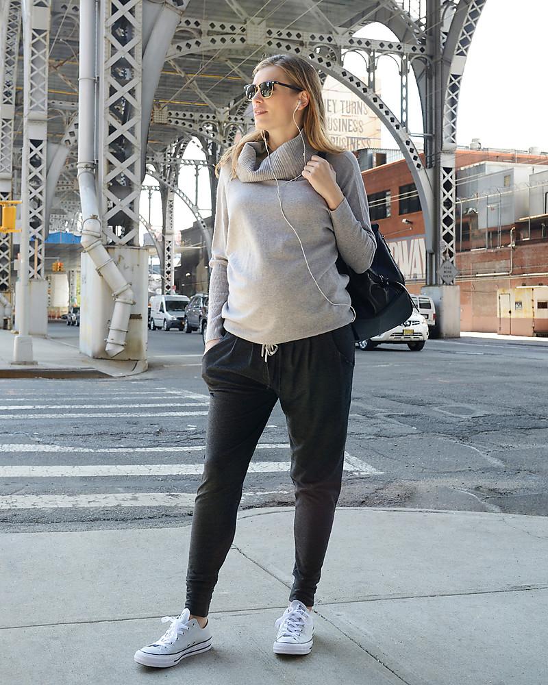 100% autentico ab467 e1374 Seraphine Pantaloni Sportivi Premaman Kian - color carbone donna