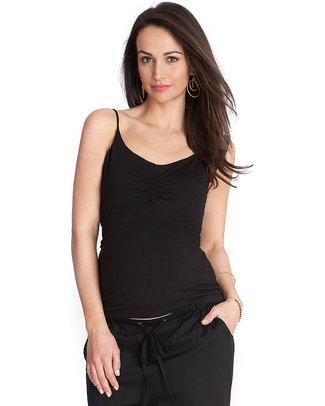 Seraphine Top Canotta Premaman con Supporto Segreto Lilli - Nera T-Shirt e Canotte
