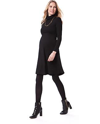 Seraphine Vanessa – Abito Premaman Elegante Collo Alto – Nero (Scelto da Kate Middleton) Vestiti