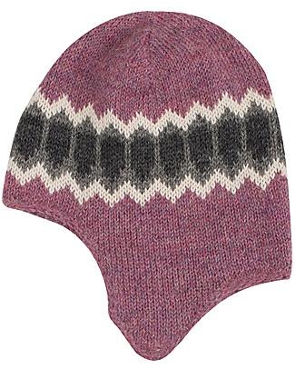 Serendipity Organics Alpaca Hood, Super Soft – Berry Hats