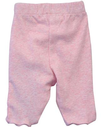 Serendipity Organics Pantaloni Prematuri con Piedini - Rosa (Cotone Bio) Pantaloni Lunghi