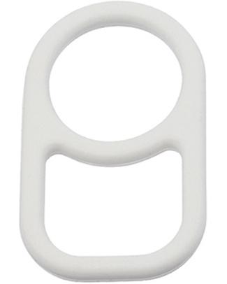 SIGG Anello Porta Borraccia SIGG - Bianco (da attaccare allo zaino) Borracce Metallo