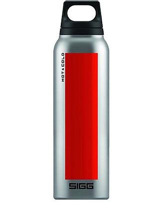 SIGG Thermos Caldo Freddo - Rosso e Acciaio - 0.5L! Thermos