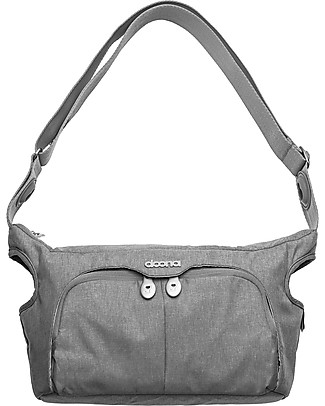 Simple Parenting Borsa Passeggino Essentials for Doona+, Grigio - 39 x 22,5 x 4 cm  Borse Cambio e Accessori