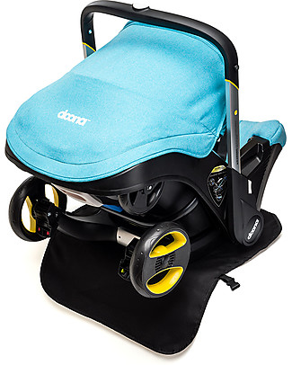 Simple Parenting Protezione per Sedile Doona+, Nero Accessori Seggiolini Auto