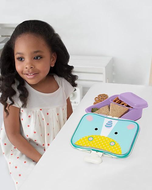 Skip Hop Contenitore Portapranzo, Unicorno - Perfetto per la Scuola o per il Parco! Contenitori Latte e Snack