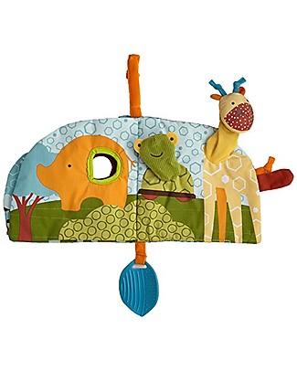 Skip Hop Libro Gioco in Tessuto, Safari - 6 pagine e 10 attività! Scienza e Natura