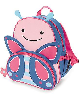 Skip Hop Zainetto Scuola per Bambine (dai 3 anni), Farfalla - Perfetto per l'Asilo null