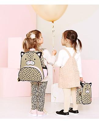 Skip Hop Zainetto Scuola per Bambine (dai 3 anni), Leopardo - Perfetto per l'Asilo null