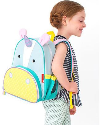 Skip Hop Zainetto Scuola per Bambini (dai 3 anni), Unicorno - Perfetto per l'Asilo null