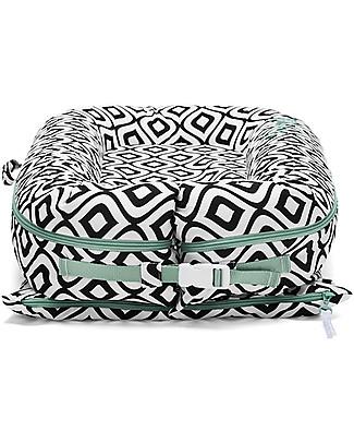 SleepyHead Riduttore Sleepyhead Deluxe+, da 0 a 8 mesi, Mod Pod -100% cotone Oeko-Tex sfoderabile Materassi