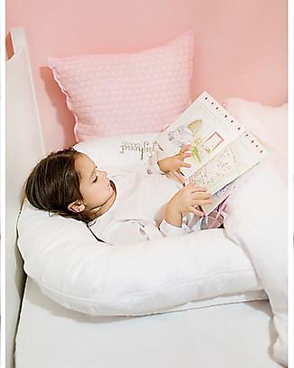 SleepyHead Riduttore Sleepyhead Grand Pod, da 9 a 36 mesi, Bianco -100% cotone Oeko-Tex sfoderabile Riduttori