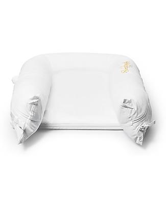 SleepyHead Rivestimento per Riduttore Sleepyhead Grand Pod da 9 a 36 mesi, Pristine White - 100% cotone certificato Oeko-Tex Riduttori