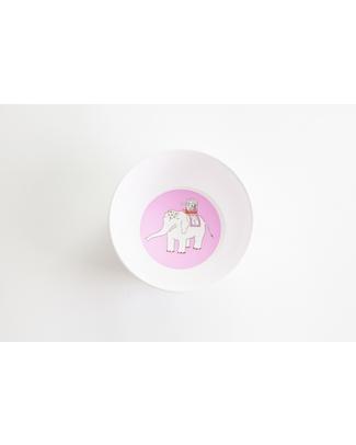 Smiling Planet Ciotola Indian Caravan - Rosa - Plastica Super Sicura ed Ecologica! Piatti e Scodelle