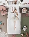 Snurk Set Copripiumino e Federa, Ballerina - Letto Singolo 140 x 200/220 cm - 100% Cotone Copripiumino e Federe