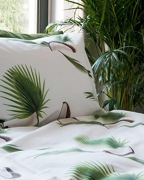 Snurk Set Copripiumino e Federa, Noce di Cocco - Letto Singolo 140 x 200/220 cm - 100% Cotone Copripiumino e Federe