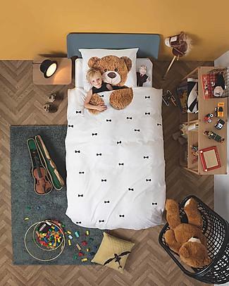 Snurk Set Copripiumino e Federa, Teddy - Letto Singolo 140 x 200/220 cm - 100% Cotone null