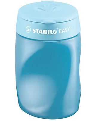 Stabilo Temperamatite ergonomico Easy 3 in 1 per destrimani - azzurro Colorare
