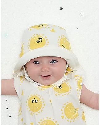 The Bonnie Mob Cappellino Estivo Reversibile Dixon, Sunshine - Cotone Bio Cappelli Estivi