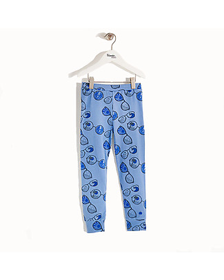 The Bonnie Mob Leggings Buchan, Blu - Cotone Bio, eco-friendly! Leggings