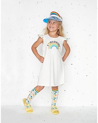 The Bonnie Mob Vestito con Balze Delaunay, Somewhere (2-5 anni) - Cotone bio Vestiti