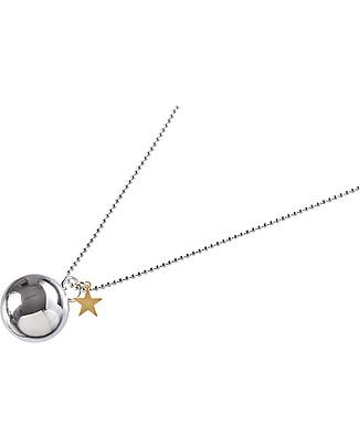 The Good Karma Chiama Angeli Baby Moon Stella Gold - Con mini stella dorata Collane
