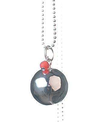 The Good Karma Chiama Angeli Baby Pearl, Corallo – Con mini corallo, la pietra delle sirene Collane