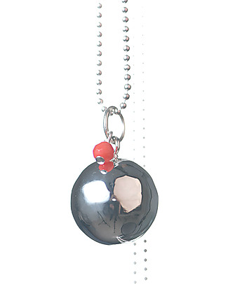 The Good Karma Chiama Angeli Baby Pearl, Corallo - Con mini corallo, la pietra delle sirene Collane