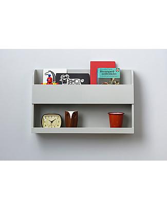 Tidy Books  Comodino Pensile per Letto a Castello Bunk Bed Buddy - 33x53x12 cm - Grigio chiaro Librerie