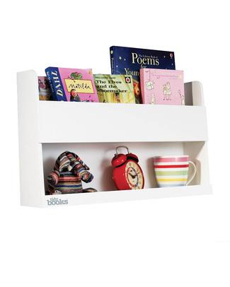Tidy Books Comodino Pensile per Letto a Castello Bunk Bed Buddy - 33x53x12cm - Bianco Librerie