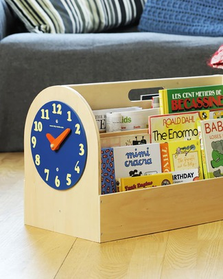 Tidy Books Libreria Montessoriana Frontale Portatile per Bambini - 34x54x28 cm - Naturale Librerie