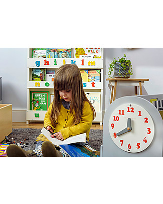 Tidy Books Libreria Montessoriana Frontale Portatile per Bambini - 34x54x28cm - Grigio chiaro Librerie