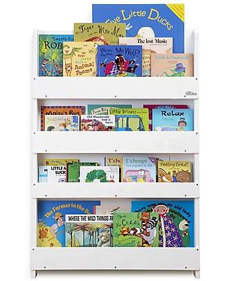 Tidy Books OUTLET - Libreria Frontale per Bambini in Legno - Bianco Librerie