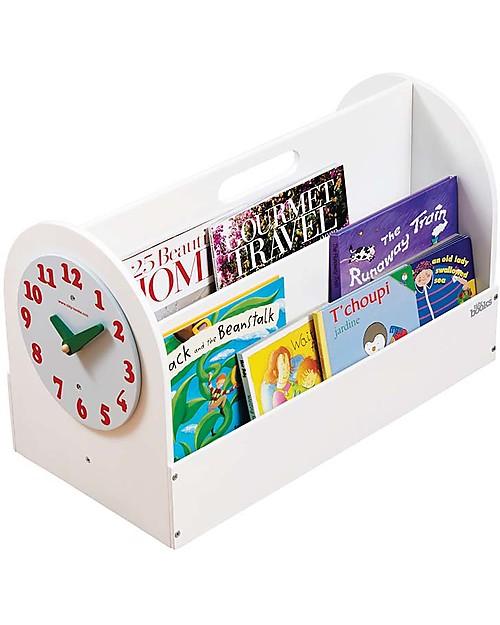 Tidy Books OUTLET Libreria Frontale Portatile per Bambini - Bianca ...