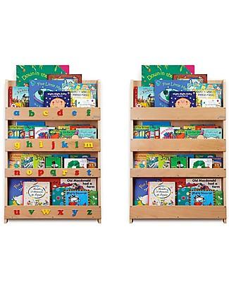 Tidy Books Pannelli Sostitutivi per Libreria - Naturale Librerie