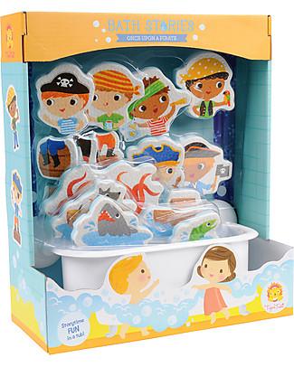 Tiger Tribe C'Era Una Volta il Bagnetto, Pirati - 18 personaggi per sguazzare nella vasca! Giochi Creativi