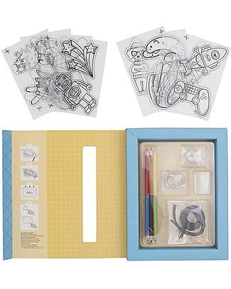 Tiger Tribe Gioco Creativo Shrinkies, Ultimate Collection - Colora e crea portachiavi e gioielli Giochi Creativi